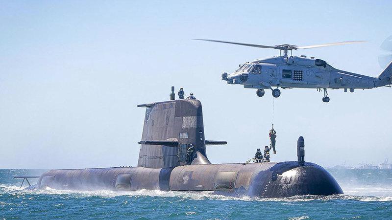 نيوزيلندا تمنع الغواصات النووية الأسترالية من الدخول إلى مياهها.  أرشيفية