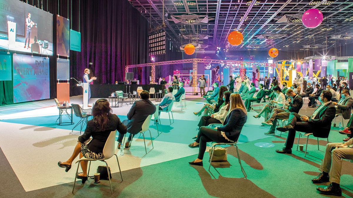 «جيتكس جلوبال وعالم الذكاء الاصطناعي» يعقد في الفترة بين 17 و21 أكتوبر الجاري.   من المصدر