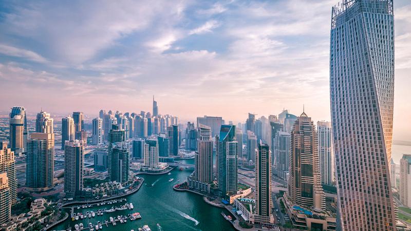 «مرسى دبي» تصدرت المناطق من حيث عدد مبايعات الشقق والفلل.   أرشيفية