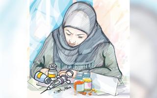 الصورة: 32 ألف درهم توفر الأدوية لـ «لطيفة» لمدة عام