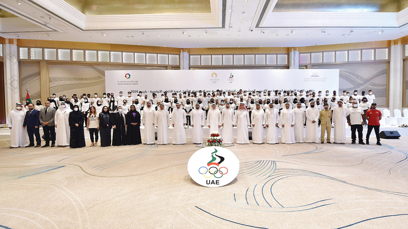 خلال اجتماع اللجنة الأولمبية الوطنية أمس مع الاتحادات الرياضية واللاعبين.   من المصدر