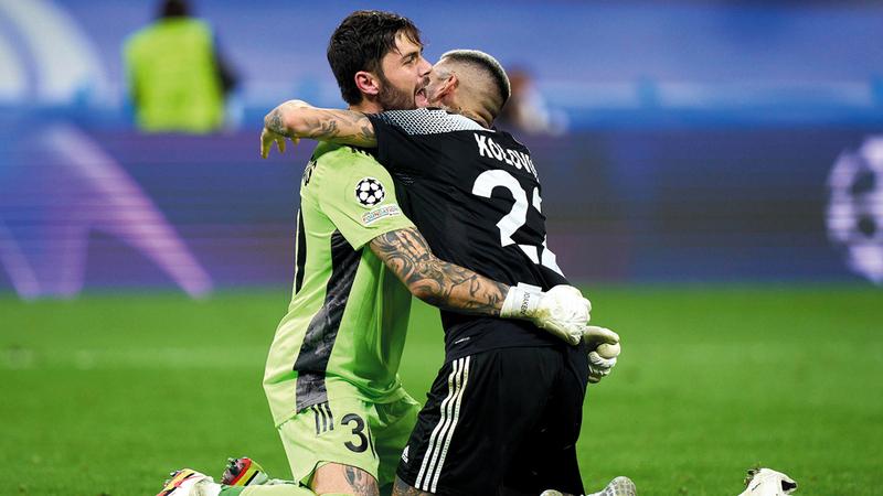فريق شيريف المولدوفي صنع التاريخ حين فاز أخيراً على ريال مدريد في العاصمة الإسبانية بدوري الأبطال.   من المصدر