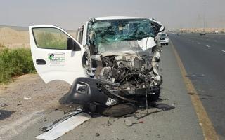 الصورة: 0 وفيات بحوادث مرورية في الفجيرة خلال 6 أشهر