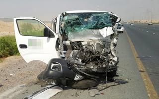 الصورة: صفر وفيات بحوادث مرورية في الفجيرة خلال 6 أشهر