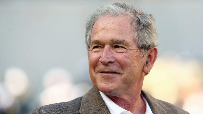 جورج بوش الابن: «حربنا على الإرهاب لا تنتهي، حتى يتم العثور على جميع المجموعات الإرهابية التي تمتلك قدرات عالمية، ومعاقبتها».