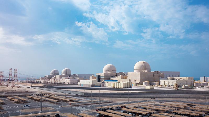 محطات «براكة» الأربع تحدّ من 21 مليون طن من الانبعاثات الكربونية فور تشغيلها بالكامل.  أرشيفية