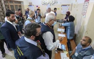 الصورة: انتخابات العراق.. صور