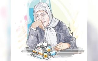 الصورة: متبرع يسدّد 32 ألف درهم كلفة أدوية «لطيفة» لمدة عام