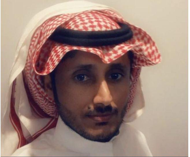 الصورة المتداولة للمواطن السعودي ضيف الله المطيري