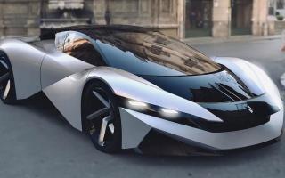 الصورة: «فارنوفا» تطلق سيارة كهربائية بقوة هائلة
