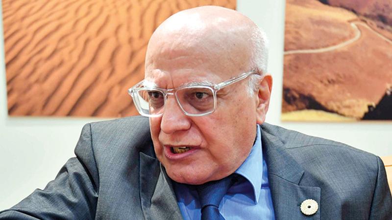 مختار عطار: «تنظيم الإمارات لـ(إكسبو 2020) يُعدّ فخراً لجميع الدول العربية».
