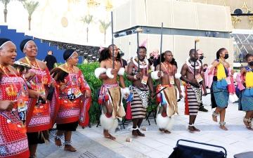 الصورة: ثقافات إكسبو.. «إسواتيني» تبهر الزوّار برقصات ثقافية احتفاء بعيدها الوطني