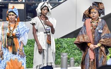 الصورة: ثقافات إكسبو.. عروض وأغنيات «باكالاما» تعرّف الزوار بالطقوس والتقاليد السنغالية
