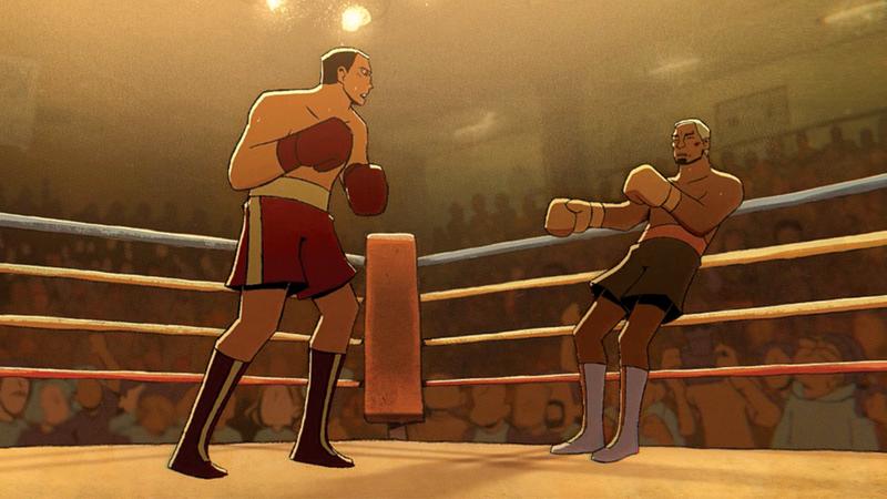 لقطة من فيلم «الجولة الأخيرة».  من المصدر