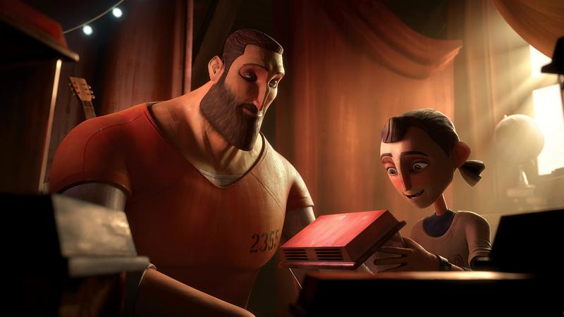 لقطة من فيلم «زنزانة».  من المصدر