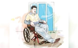 الصورة: «محمد» يحتاج إلى جلسات غسيل كلوي لمدة 6 أشهر