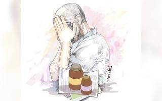 الصورة: سرطان البنكرياس يهدد حياة «أبوطارق»