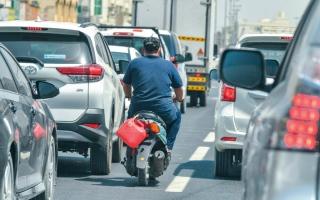 الصورة: لقطة.. درّاجات غير مرخّصة