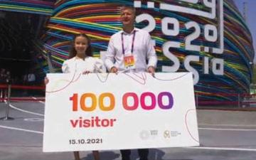 الصورة: عين إكسبو.. أهلاً بالضيف رقم 100 ألف.. في الجناح الروسي