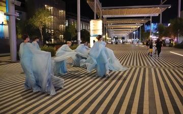 الصورة: عين إكسبو.. رقصة الموج.. بإيقاع روسي