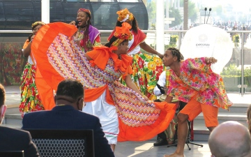 الصورة: إكسبو.. كومنولث دومينيكا.. جمال لم يلامسه التلوّث