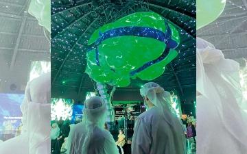الصورة: إكسبو.. «العقل الإبداعي» يضيء جناح روسيا.. والمستقبل