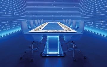 الصورة: بـ 5000 درهم.. تناول غداءك مع الأصدقاء في عام 2050