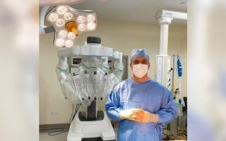 الصورة: دبي تشهد أول جراحة روبوتية للتبرع بالكلى