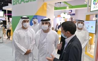 الصورة: منصور بن محمد: دبي تسهم في رسم ملامح مستقبل مزدهر للقطاع التكنولوجي والرقمي