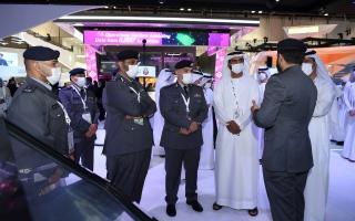 الصورة: مدير شرطة أبوظبي: «جيتكس 2021» يواكب التوجهات الرقمية المتزايدة للإمارات