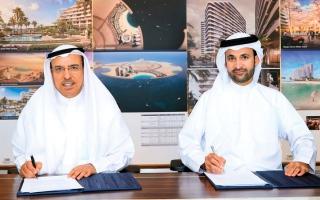 الصورة: «دبي للاستثمار» تطور منطقة سكنية ومنتجعاً في رأس الخيمة بمليار درهم