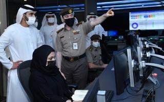 الصورة: منصور بن محمد: دبي تستعد لاستقبال أعداد كبيرة من المسافرين والزوار