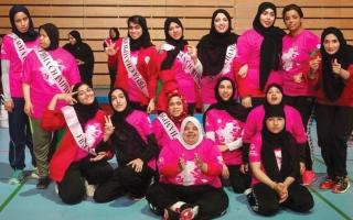 الصورة: أكاديمية فاطمة بنت مبارك تنظم «يوم المرأة للرياضات الموحدة»