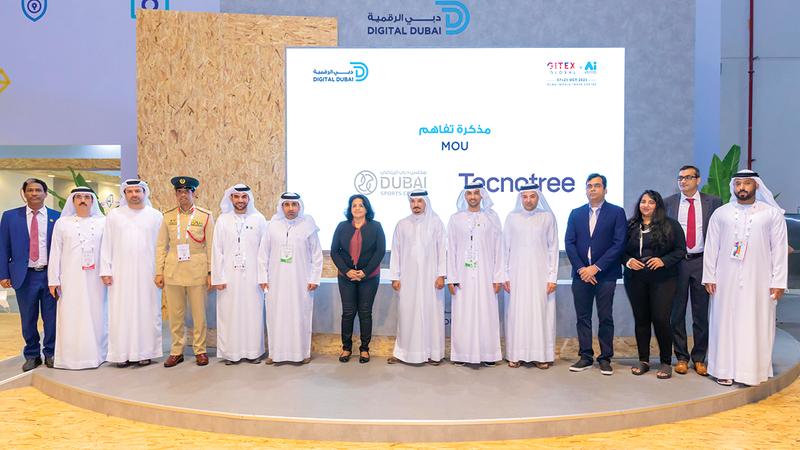 صورة «دبي الرياضي» يطوّر خدماته الذكية بالشراكة مع «تكنوتري العالمية»