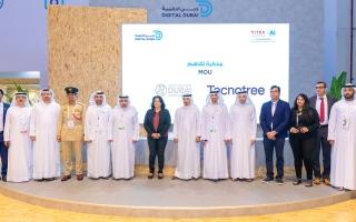 الصورة: «دبي الرياضي» يطوّر خدماته الذكية بالشراكة مع «تكنوتري العالمية»