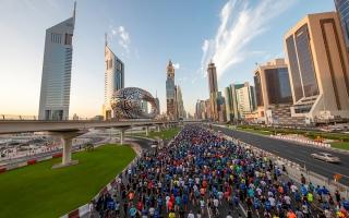 الصورة: «تحدي دبي للجري» على شارع الشيخ زايد 26 نوفمبر المقبل