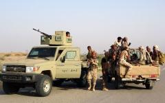 الصورة: عملية عسكرية لـ«التحالف» تستهدف مواقع حوثية في صنعاء وصعدة