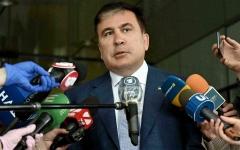 الصورة: جورجيا ترفض إدخال الرئيس السابق المضرب عن الطعام إلى المستشفى