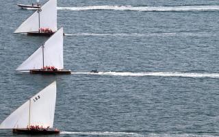 تأجيل سباق بطولة دبي للقوارب الشراعية