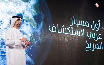 الصورة: عمران شرف: «إكسبو» نافذة مهمة لـ «دبلوماسية الفضاء»