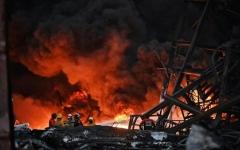 الصورة: سبعة قتلى وتسعة مفقودين في حريق مصنع في روسيا