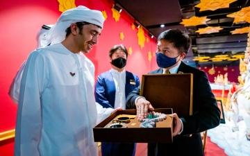 """الصورة: عبدالله بن زايد: """"إكسبو دبي"""" يخلق فرصاً واعدة لتنمية التعاون المثمر بين دول العالم"""