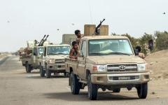 الصورة: معارك في مأرب ومقاتلات «التحالف» تستهدف مواقع حوثية في 5 مديريات