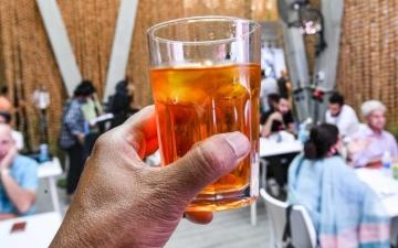 الصورة: «شربات» الزعفران.. يجدد طاقة زوّار «إكسبو 2020 دبي»