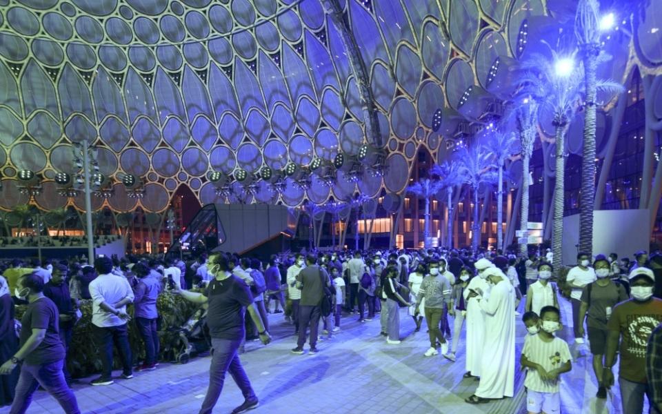 الصورة: الجناح البريطاني في «إكسبو 2020 دبي» يناقش مستقبل المنسوجات