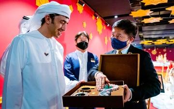 الصورة: عبدالله بن زايد: «إكسبو 2020» يخلق فرصاً واعدة لتعزيز الشراكات الدولية