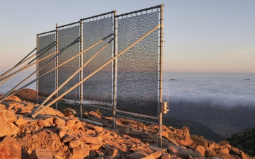الصورة: إكسبو لايف.. «حصاد الضباب».. مشروع لتزويد القرى بالمياه في المغرب