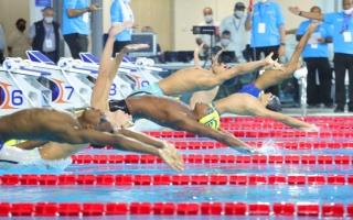 الإمارات تحصد 3 ميداليات في اليوم الافتتاحي للبطولة العربية للسباحة