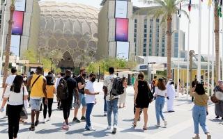 الصورة: «شتاء الإمارات».. طقس مثالي لزيارة «إكسبو 2020 دبي»