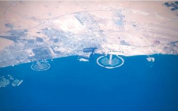 الصورة: دبي كما تُرى من الفضاء